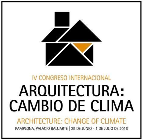 Congreso Internacional Arquitectura Cambio de clima