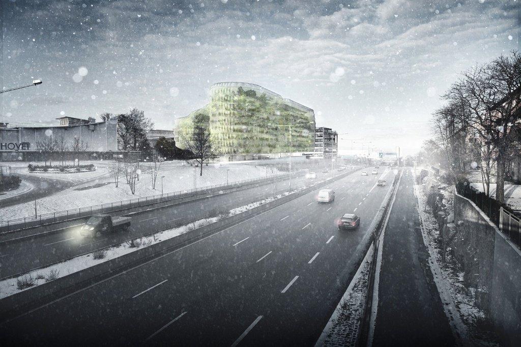Edificio de oficinas en Estocolmo por Selgas Cano