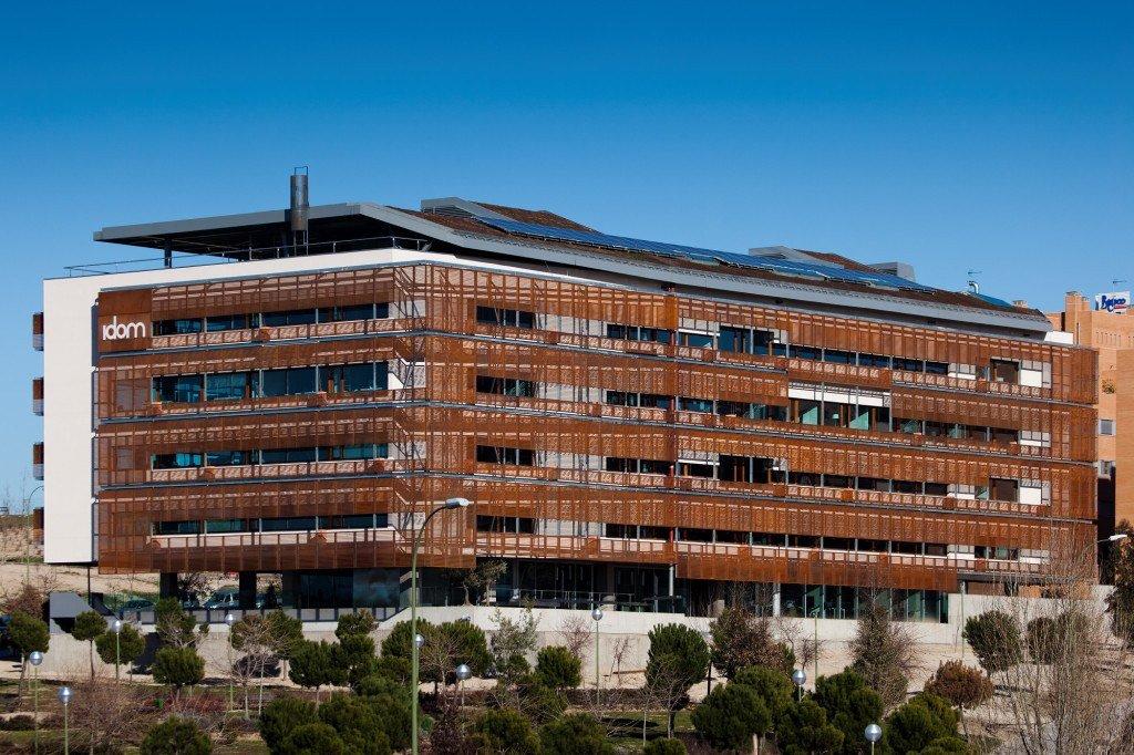 Edificio de energia casi nula. Imagen de nearzerobuildings