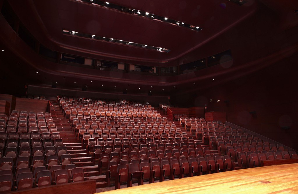 Auditorio 400 del museo reina sofia
