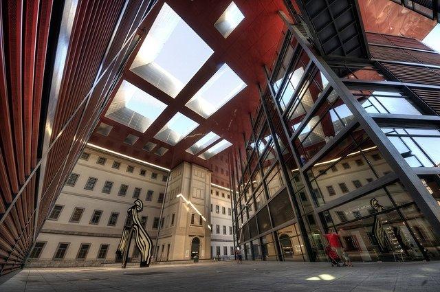 Museo Reina Sofia patio