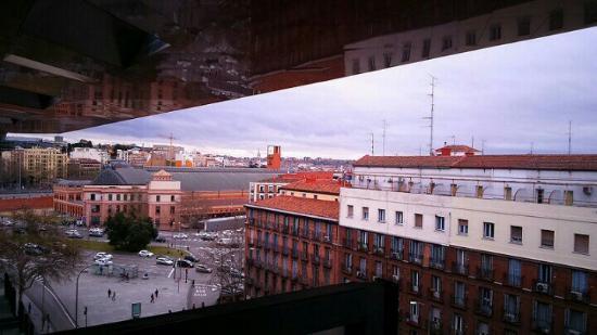 Museo Reina Sofia vista terraza