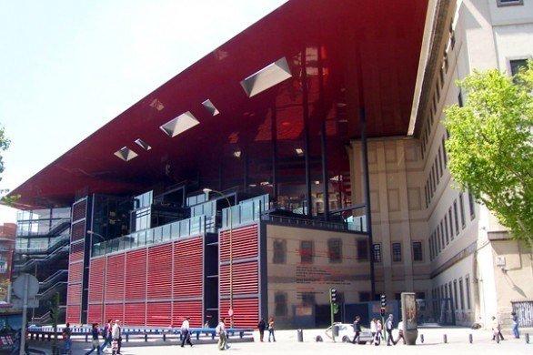 Amplizacion museo reina sofia