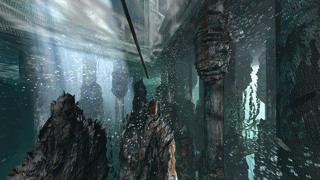 Futuro de Venecia con reparación de estructura submarina