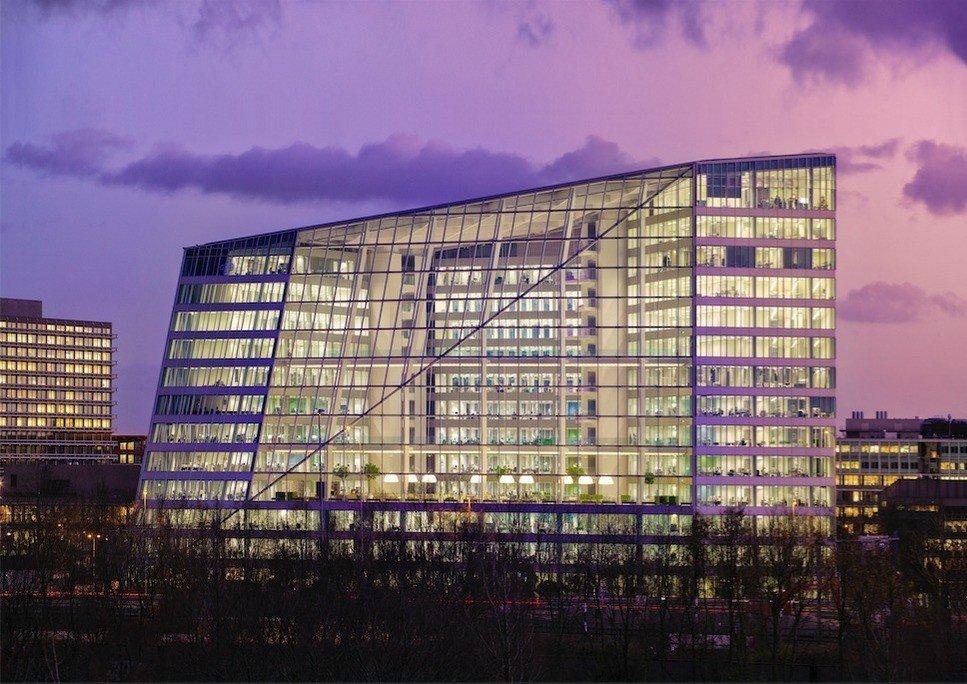 Edificios de oficinas muy innovador