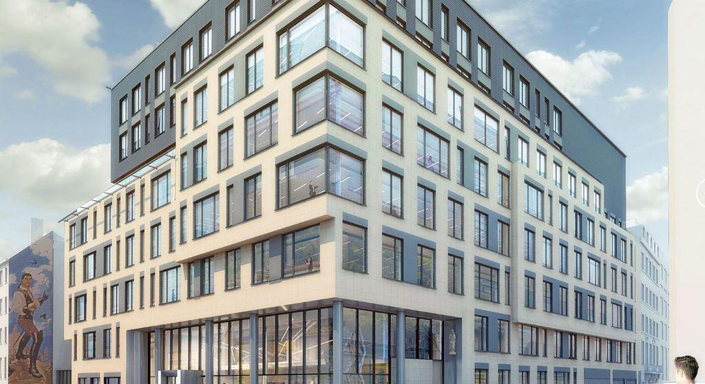 Edificio oficinas Treurenberg en Bruselas