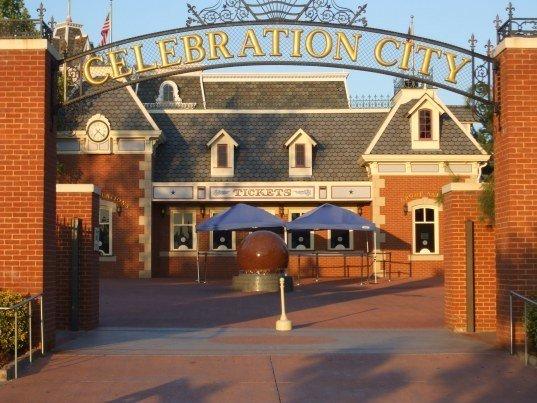 Imagen de la ciudad de Walt Disney Celebration