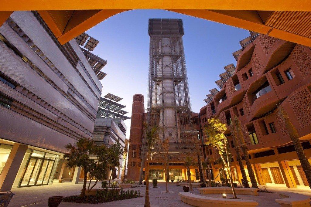 Imagen de la ciudad inteligente Masdar