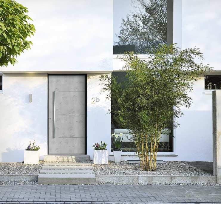 Imagen de vivienda con aluclip