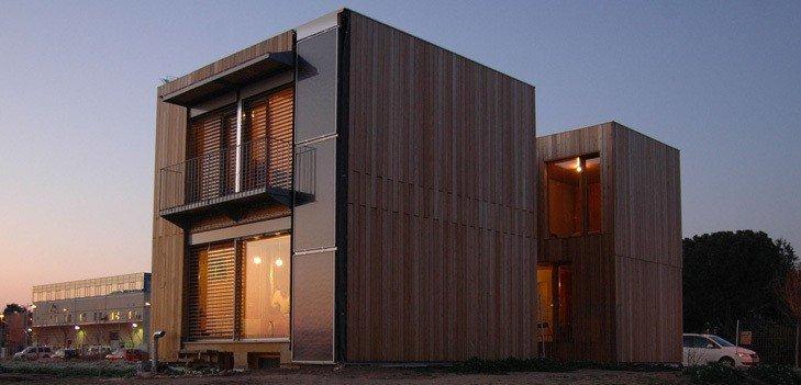 Edificio passivhaus Imagen de arkearquitectos