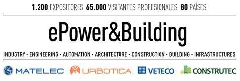 Logo del evento epower building