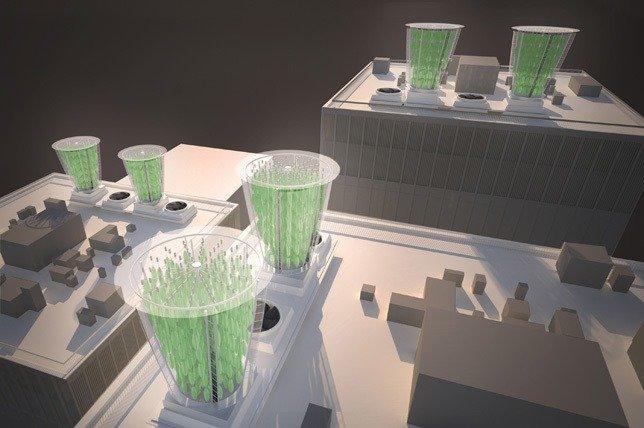 Render del proucto usado a escala urbana