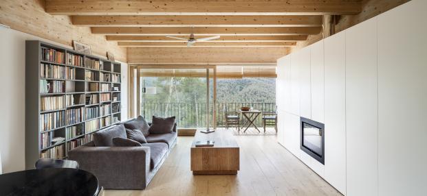 Imagen del salón de la vivienda