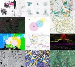 Imagen de distintos planos urbanísticos