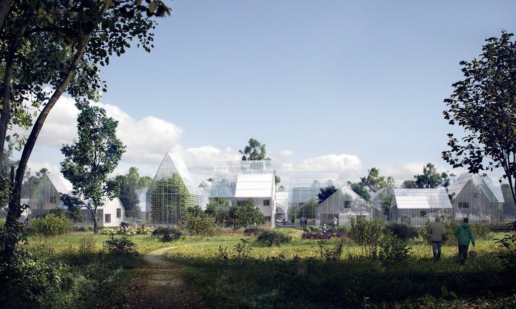 Imagen renderizada de las viviendas