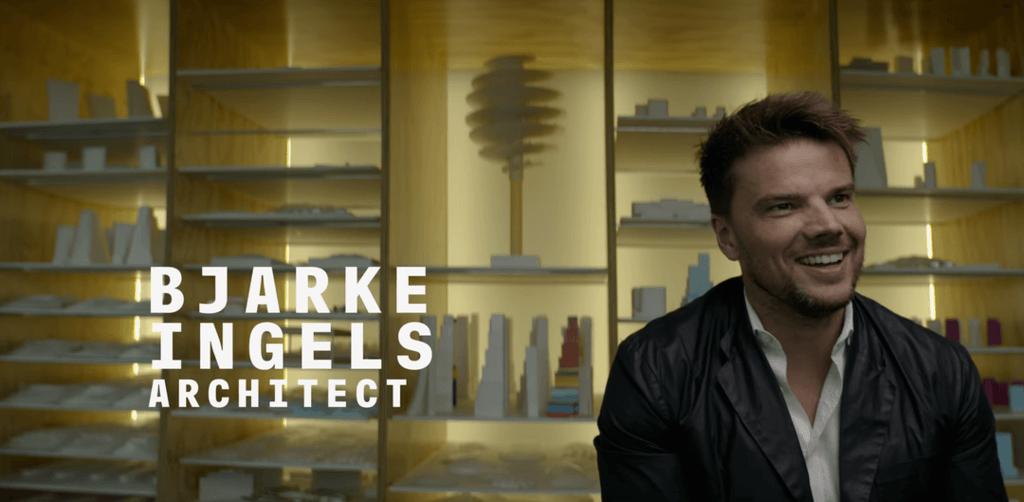 Bjarke Ingels en el vídeo