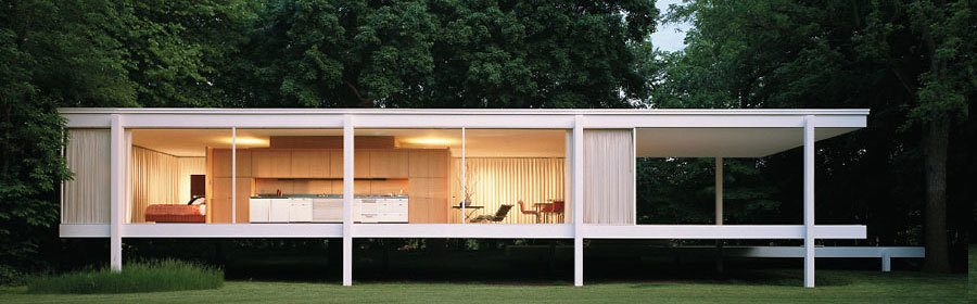 farnsworth house botella medio llena 1