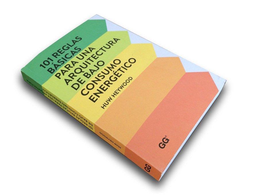 Portada libro con los colores de la calificación energética