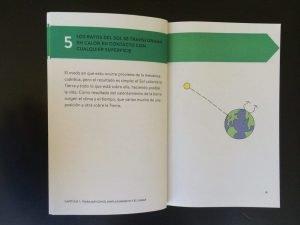 Páginas con una ilustración y explicación sencilla