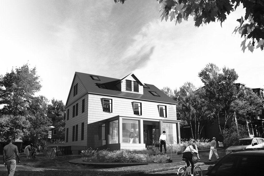 Imagen antiguadel estado original de la casa