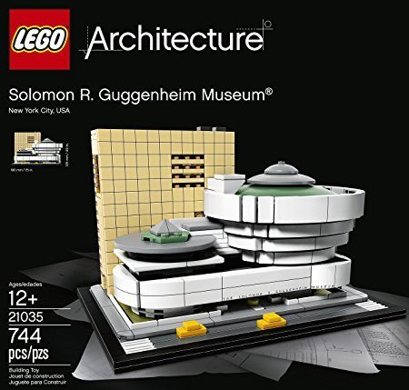 Caja de juego lego del mueso Guggenheim