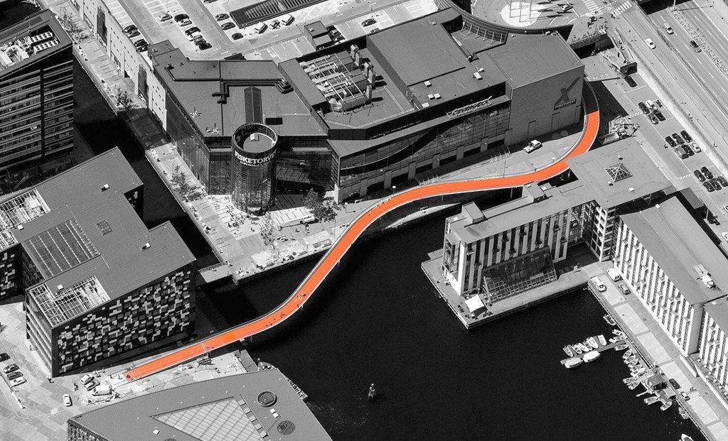 Cykelslangen cycle bridge 2_1