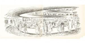 Viñeta inaguración de Guggenheim Nueva York