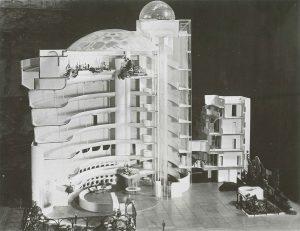Maqueta de idea Guggenheim Nueva York