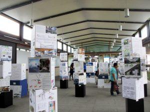 Exposición de paneles de las propuestas