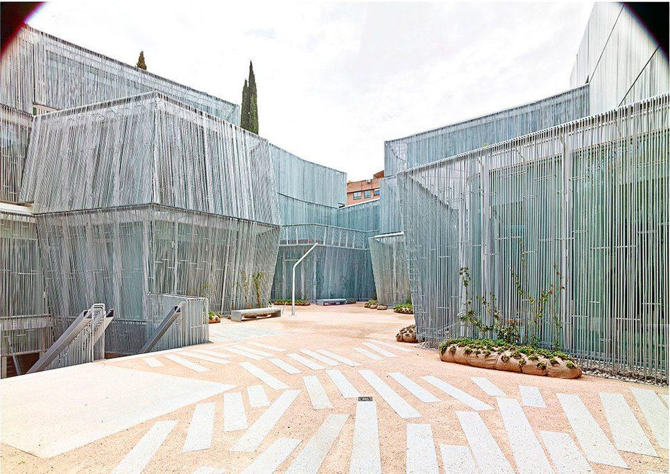 Edificios para visitar arquitectura madrid cte arquitectura for Arquitectura que ver en madrid