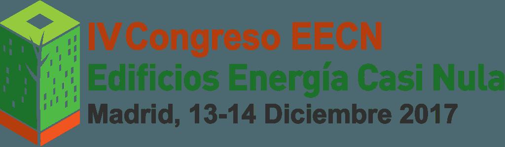 Cartel promocional IV Congreso de Edificios de Energía Casi nula