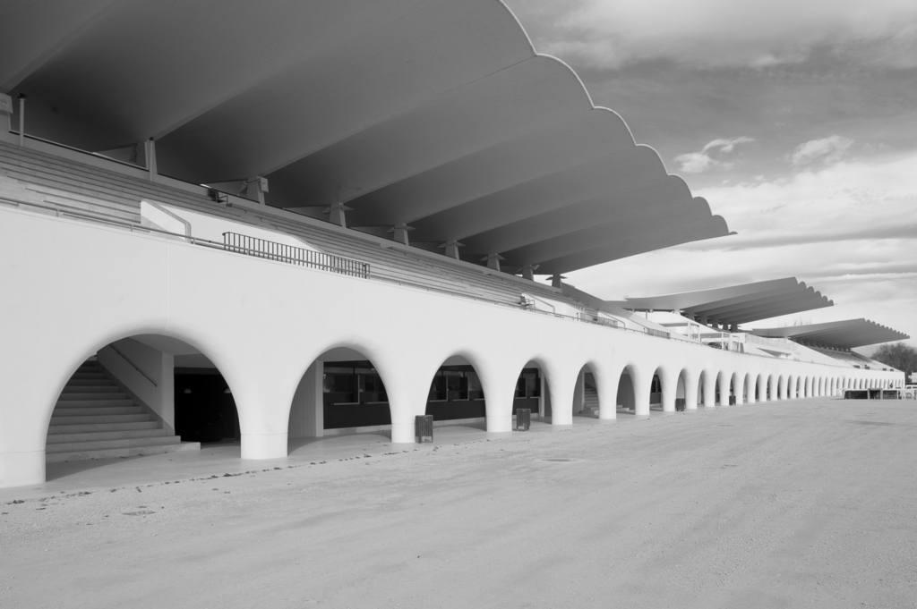 Imagen de arqueria del hipódromo de madrid
