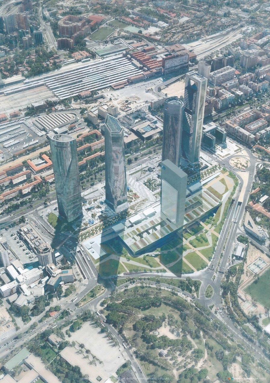 Plano general torres Madrid.