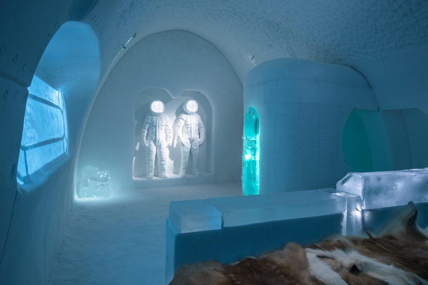 Habitación espacio Ice Hotel