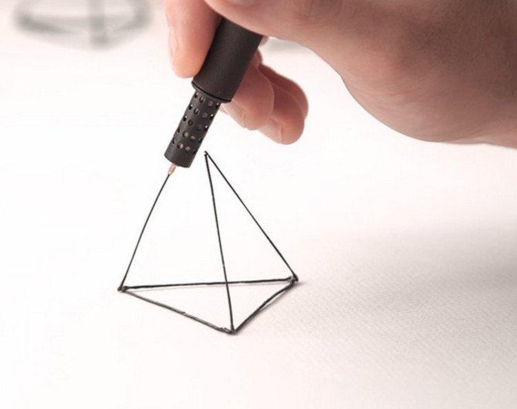 Gadgets arquitectos. Lápiz 3 D
