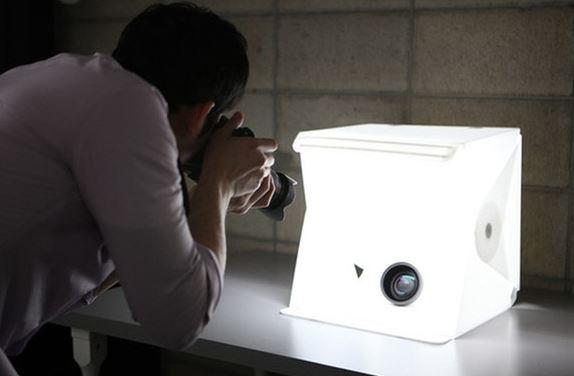 Gadgets arquitectos. Caja de fotografia