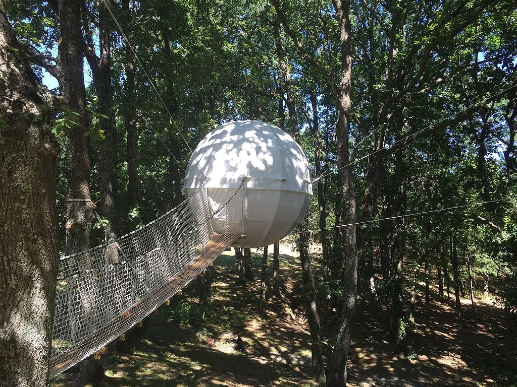 Arquitectura colgante / Cocoon Tree.