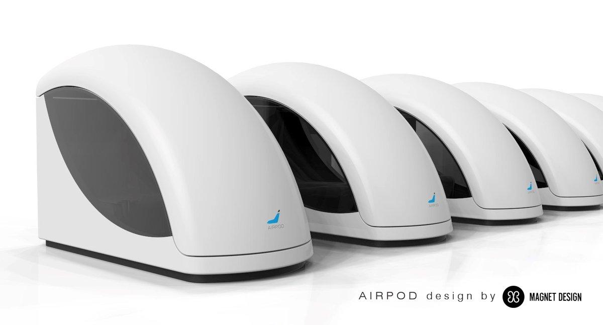 Airpod aeropuerto