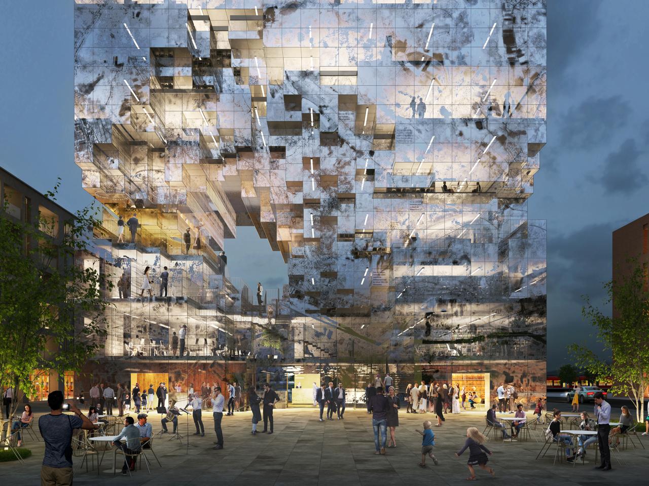 Arquitectura pixelada