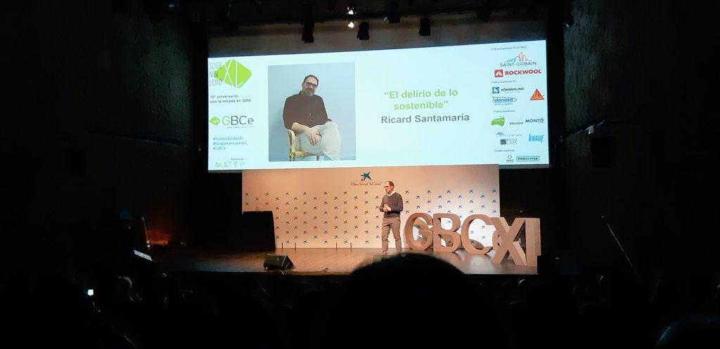 Ricard Santamaría GBCe SostenibilidadXL