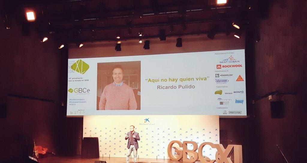 Ricardo Pulido GBCe SostenibilidadXL