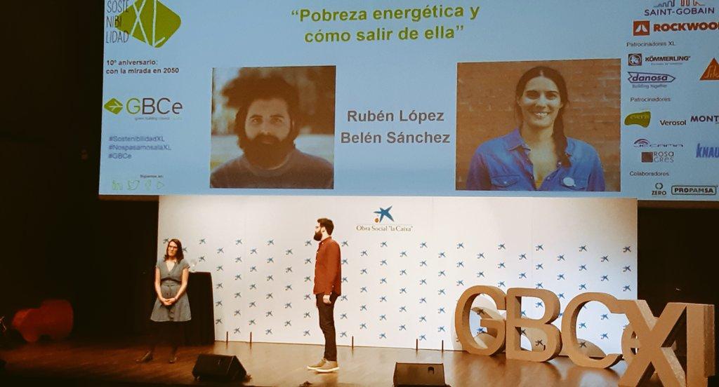 Rubén López y Belén Sánchez GBCe SostenibilidadXL