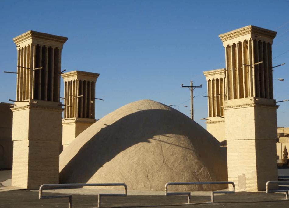 torre de viento iraní