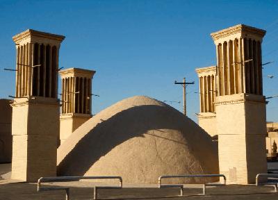 torre de vientos irani