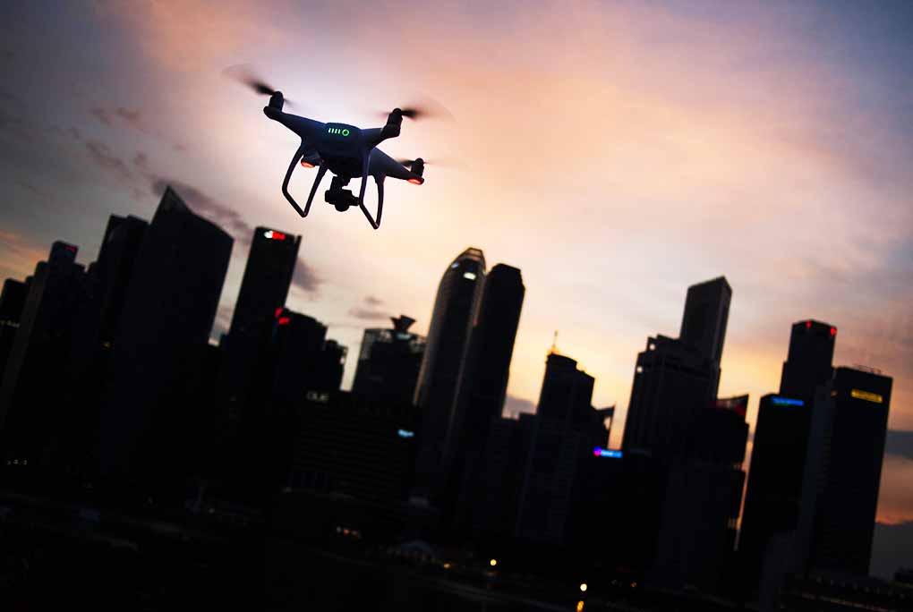 dron arquitectura biministro